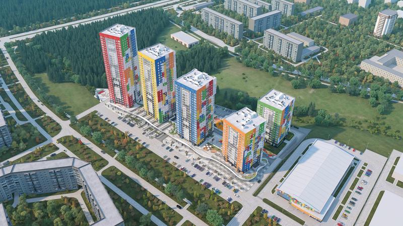 ЖК «MATRЁSHKA city» 4 дом, Жилой