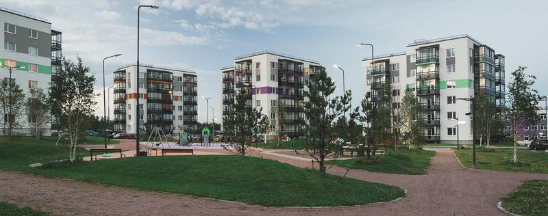 Жилой комплекс Gröna Lund (Этап